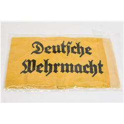 Yellow Deutsche Wehrmacht Armband