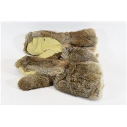 Pair of Rabbit Fur Gloves