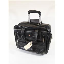 Black Swiss Laptop Case on Wheels