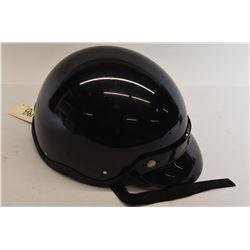 Motorcyle Helmet Black Large