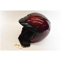 Motorcycle Helmet Red - Large