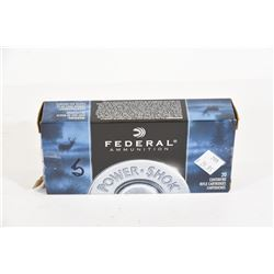 20 Rounds Federal 30-30 Win 170gr SP