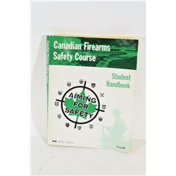 Canadian Firearms Safety Course Manual cir 1998