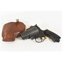 British No 4 MK I WWII Flare Pistol with Holster
