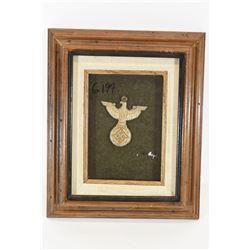 Nazi Reichsadler Eagle in Frame
