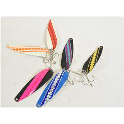 Five Spoon Lures