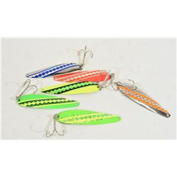Six Spoon Lures