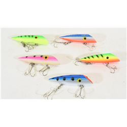 Five Diver Lures