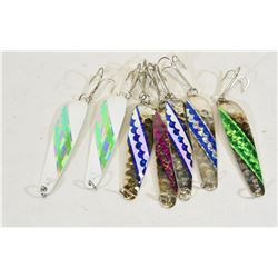Seven Spoon Lures