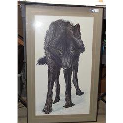 Glen Loates Wolf Print