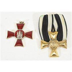 2 German Imperial Crosses