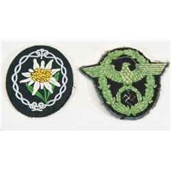 Police & Edelweiss Patch