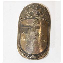 Silver 1925 Iron Cross Detail