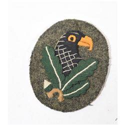 German WWII Sniper Cloth Badge