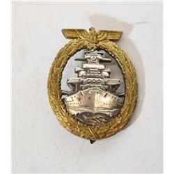 Nazi High Seas Fleet  Badge