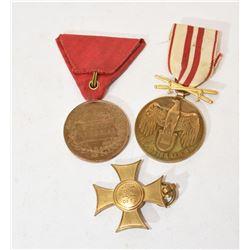 Austrian WWI Medal / Crosses