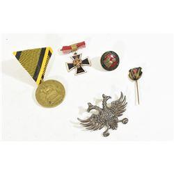 5 WWI Austrian Medals