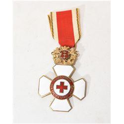 Danzig Red Cross Enamel