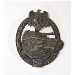 50 Tank Assault Bronze Badge