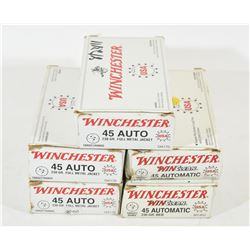 246 Rounds Winchester 45 ACP 230gr