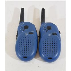 Two GE 3 Channel Radios