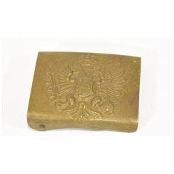 WWI Austro Hungarian Brass Buckle