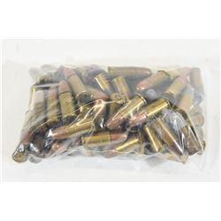 100 Rounds Factory .38 S&W Ammunition