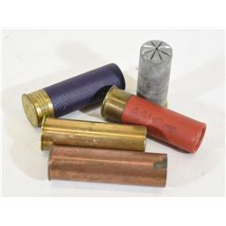 5 Vintage Collector Shotgun Shells