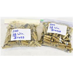 400 Pieces 38 Spl Brass