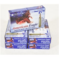 100 Rounds Federal 223 55gr FMJ