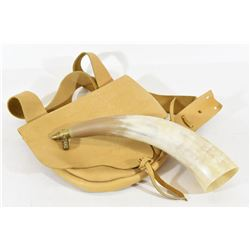 Possibles Bag and Powder Horn
