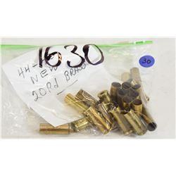 20 Pieces 44-40 Never-Fired Brass