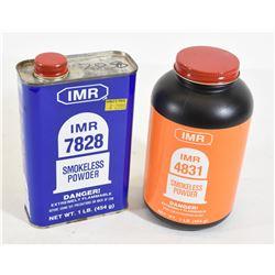 IMR Smokeless Powder