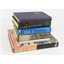 6 Military Books