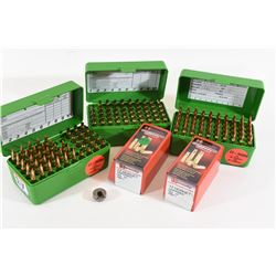 17 Hornet Ammunition, Brass and Shell Holder