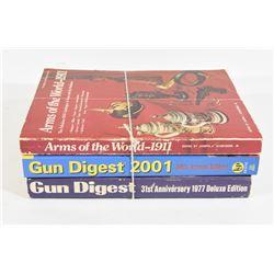 3 Soft Cover Books
