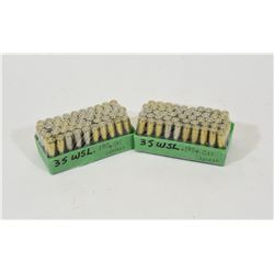 100 Rounds 35 WSL Gas Checked Ammunition
