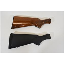 Two Remington Butt Stocks