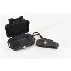 Pelican 1010 Micro Case and Ruger Trigger Lock