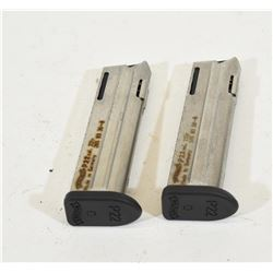 Two Walther P22 Mags