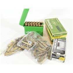 25cal Ammunition, Brass, and Projectiles