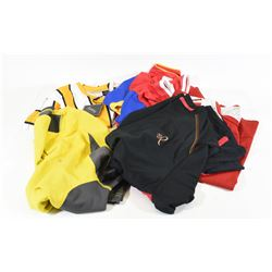 Lot of 6 Men's Athletic Shirts Size M