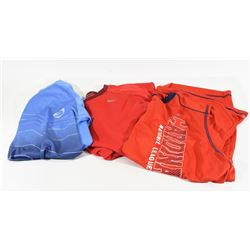 Lot of 3 Men's Athletic Shirts