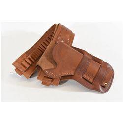 Oklahoma leather 44/45 gun belt & holster