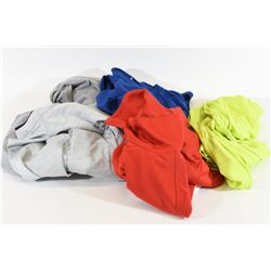 Lot of 5 Men's LS Athletic Shirts