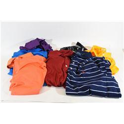 Lot of 7 Men's Golf Shirts Size L / XL / 2XL