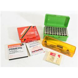 Pistol Ammo and Primers