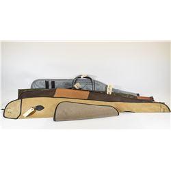 Four Soft Gun Cases & One Pistol Case