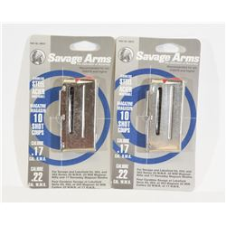 Savage 17HMR/22WMR Magazines