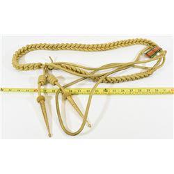 Gilt Wire Shoulder Aiguillette